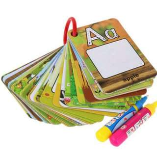 ❤ On-hand: Early Learning Letters of Alphabet Flashcards with Magic/Water  Pen