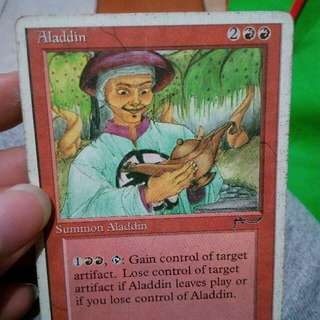 "Magic Cards The Gathering ""Aladin"""