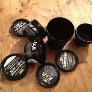 Lush Empty Pots / Empties