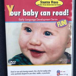 DVD babies can read