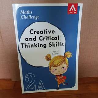 Creative and Critical Thinking Skills 2A