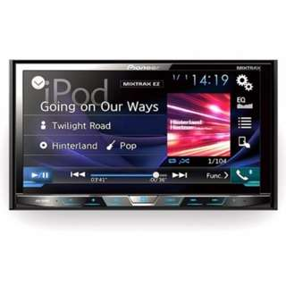 "Pioneer AVH-X595BT Double-DIN DVD Multimedia AV Receiver with 7"" WVGA Touchscreen Display, MIXTRAX, Built-in Bluetooth®, and Direct Control for iPod/iPhone and Certain Android Phones"