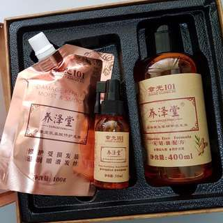 (NEW) Natural Ginger Shampoo 养泽堂