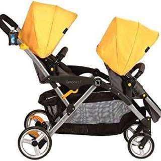 Pre-loved Contour double stroller