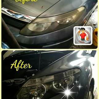 Repair buat baru heaplamp  clean cushion