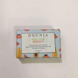 Organic aloe Vera & papaya soap