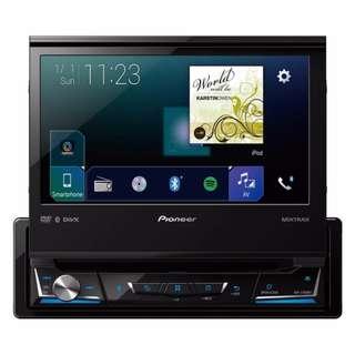 "Pioneer AVH-Z7050BT 7"" 1 DIN DVD RDS AV Receiver"