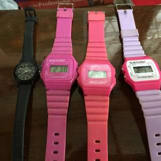 Casio inspired watches