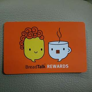Breadtalk Rewards Card $100