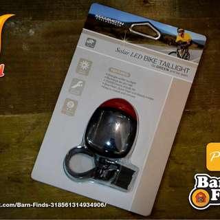 Solar LED Bike Taillight