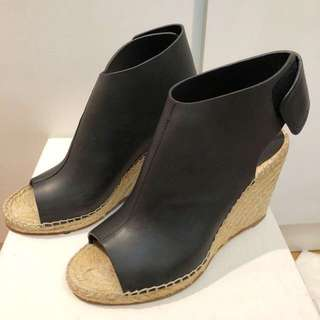 Celina black espadrille shoes 39