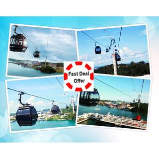 Singapore Cable Car (Mount Faber + Sentosa Line) - Fast Deal Offer