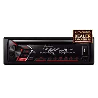 Pioneer DEH-S1050UB CD RDS 50W x 4 Receiver