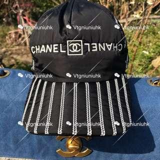 Chanel vintage 字母logo 棒球帽