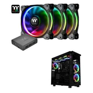 Riing Plus 12 RGB Radiator Fan - 3pack