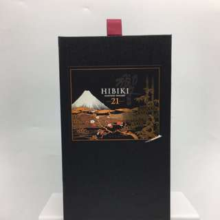BRAND NEW SUNTORY HIBIKI 21 SEKAI NO OWARI LIMITED EDITION  - 全新 花系風月特別版 響 21 威士忌