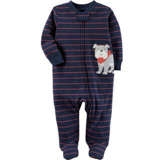 [PRICE REDUCED] Carter's Doggie Zip-up Sleep and Play (Brand New)