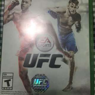 UFC AND GEAR OF WARS XBOX ONE GAME