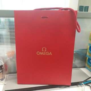 Omega paperbag