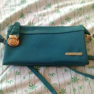 Michaela blue shoulder bag