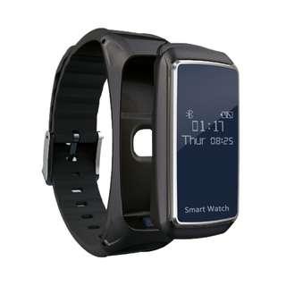 Heart Rate Monitor Bluetooth Headset Smart Talkband Watch