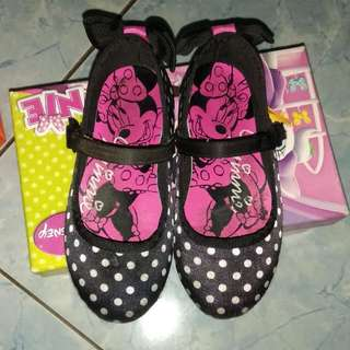 Disney Payless Minni Mouse Girl Flatshoes