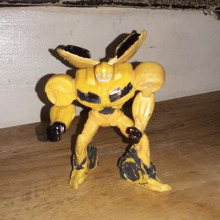 Macdo happy meal toy-transformers prime bumblebee