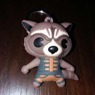 Rocket Raccoon Keychain ($2 incl postage)