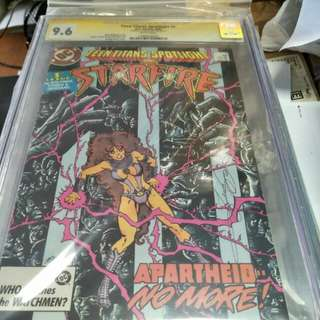 DC Comics vintage collectibles classics rare Key issue Hard to find comics graded Cgc 9.6 signed by George Perez