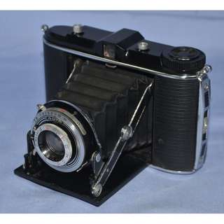 ANTIQUE AGFA ISOLETTE IIC GERMANY FOLDING CAMERA CIRCA 1940/50S