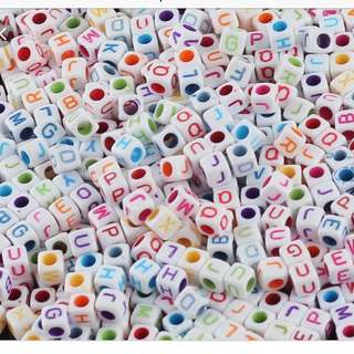 Mixed Alphabet Beads