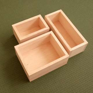 Assorted Wooden boxes x 3