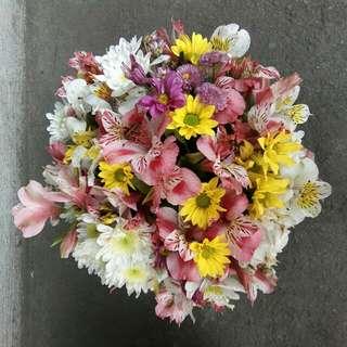 Floral Arrangement (Round Assorted) for Sale