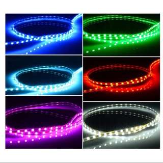 Like For Likes Escooter Ebike Bicycle Led Strips 2 x 45cm with double sided tape