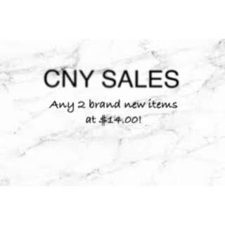 CNY SALES!!
