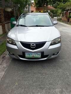 Mazda 3 2005for SALE!!!
