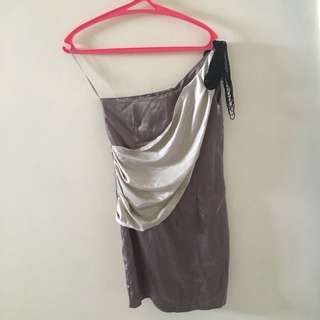 Dress abu / grey korea
