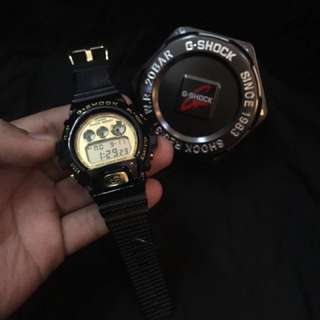 Gshock black gold