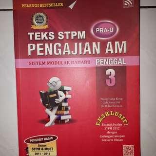 STPM Pengajian Am (Penggal 3) (184 pages)