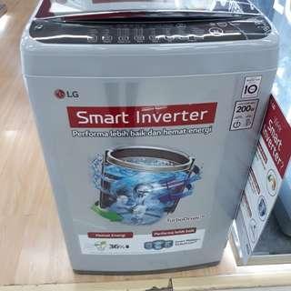Mesin Cuci LG 1 Tabung Cicilqn tanpa kartu credit dp 200 rb