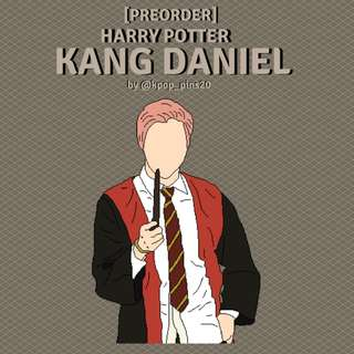 KANG DANIEL HARRY POTTER ENAMEL PIN
