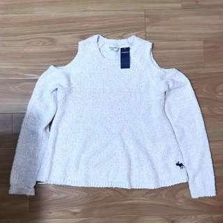 A&F Sweater 露膊冷衫⭐️abercrombie ⭐️hollister⭐️jack wills ⭐️gap ⭐️zara