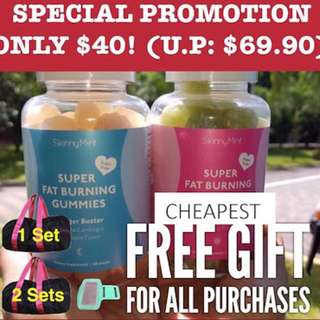**GIFTS!** cheapest skinny mint gummy