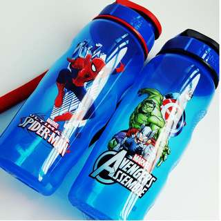 Kid Water Bottle - Authentic Lock & Lock Special Marvel Edition