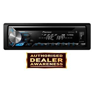 Pioneer DEH-X3950BT CD RDS Receiver