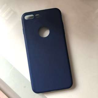 Iphone 7/8+ Silicone Navy Phone Case