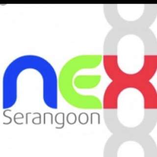 Serangoon Nex mall vouchers for exchange with Fairprice vouchers