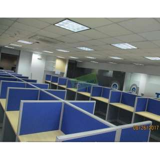36 sets TWO TONE WORKSTATIONS  OFFICE CUBICLES--KHOMI