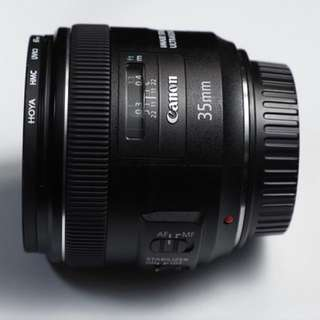 Canon 35mm F2.0 IS USM