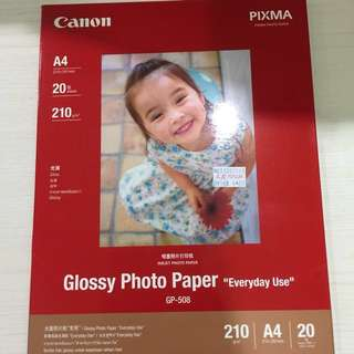 4 packs Canon & HP Photo Paper